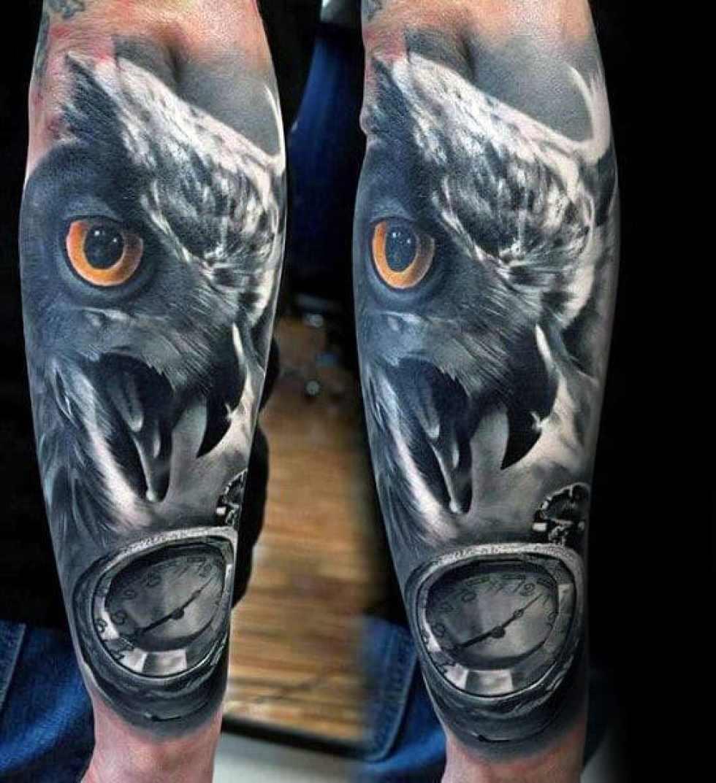 Realistic Arm Tattoo