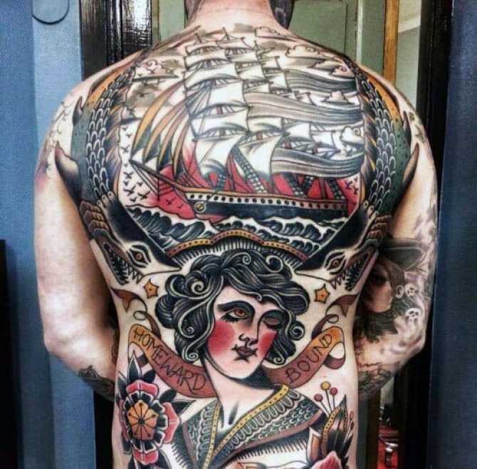 Vintage Design Tattoo