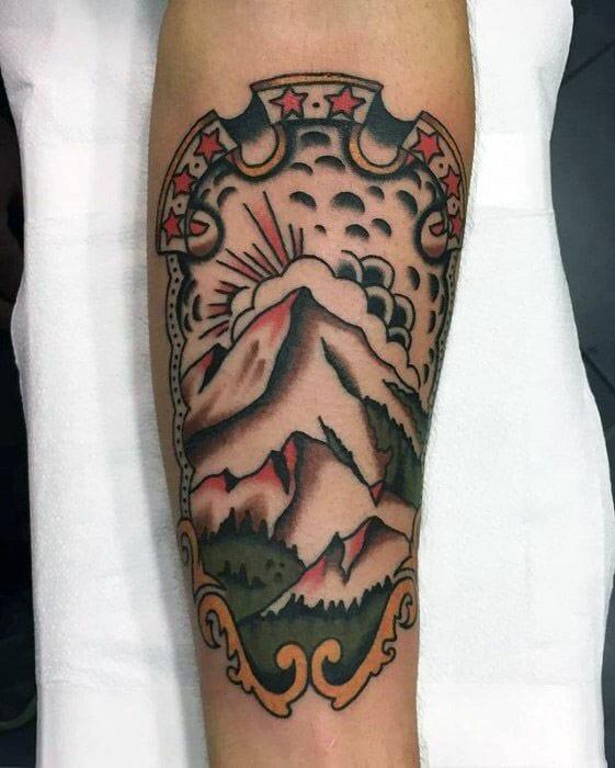 Vintage Tattoo On Arm