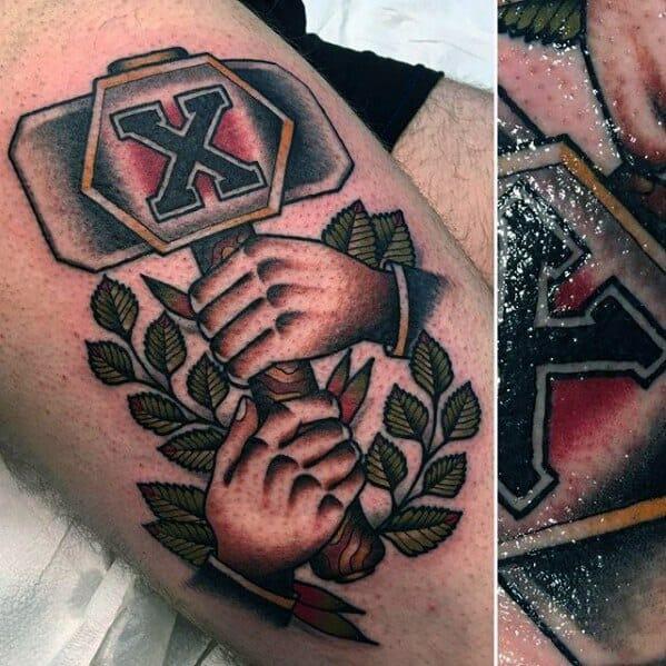 Sailor Jerry Arm Tattoo