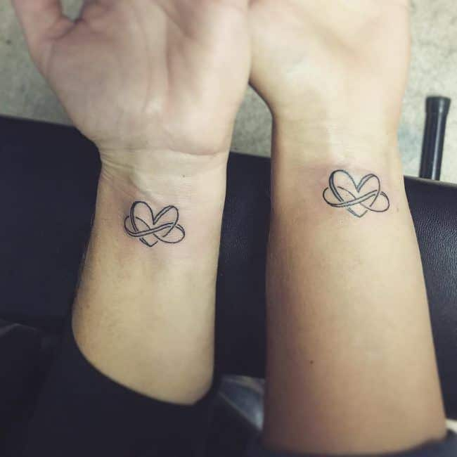 matching couples tattoo