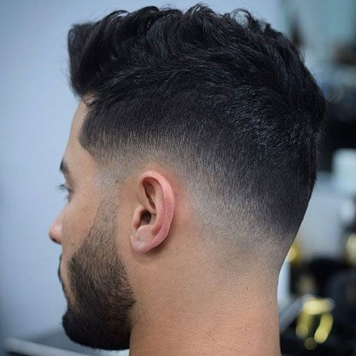Low Fade with Layered Hairstyle