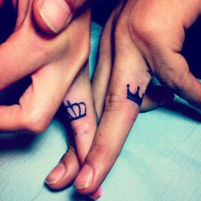 Crown Hand Tattoo