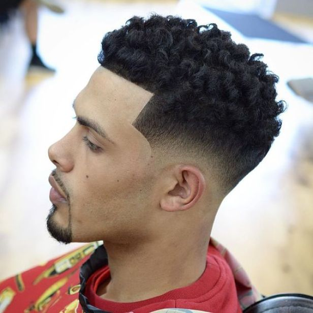High Top Textured Low Fade