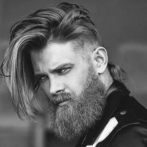 Long Hair Undercut Hairstyle