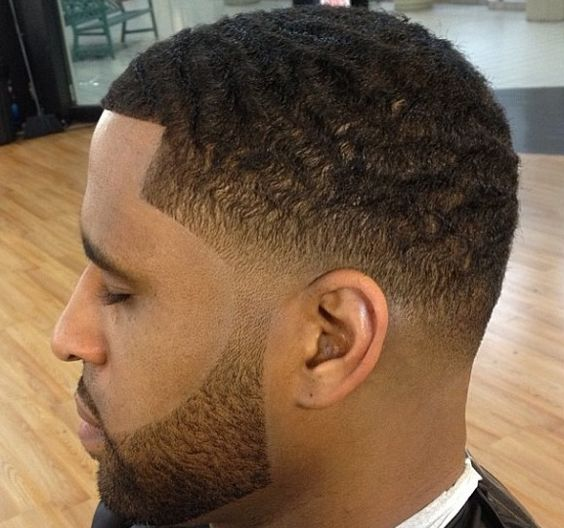 Buzzcut with low fade