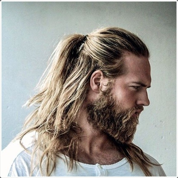101 Long Hair Beard Style Ideas Smart Casual And Professional