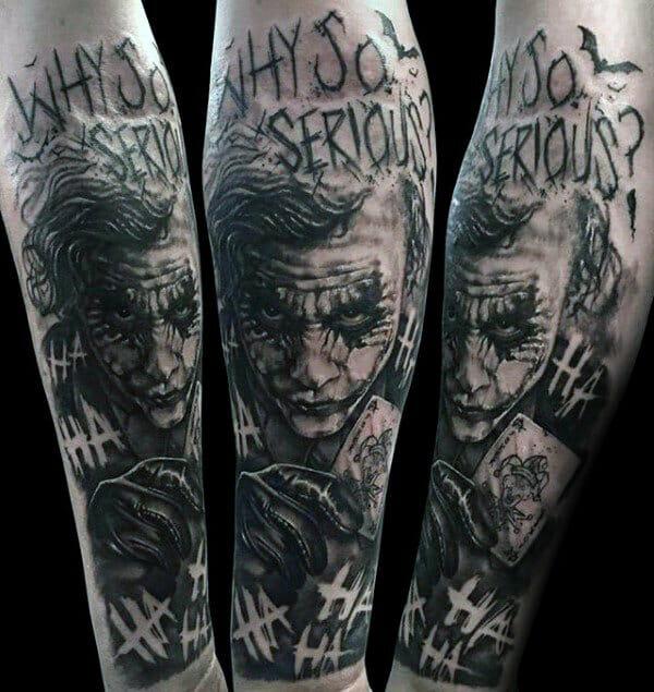 The Joker Forearm Sleeve