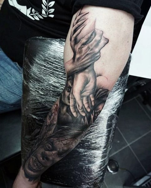 Demon Hunter Tattoo