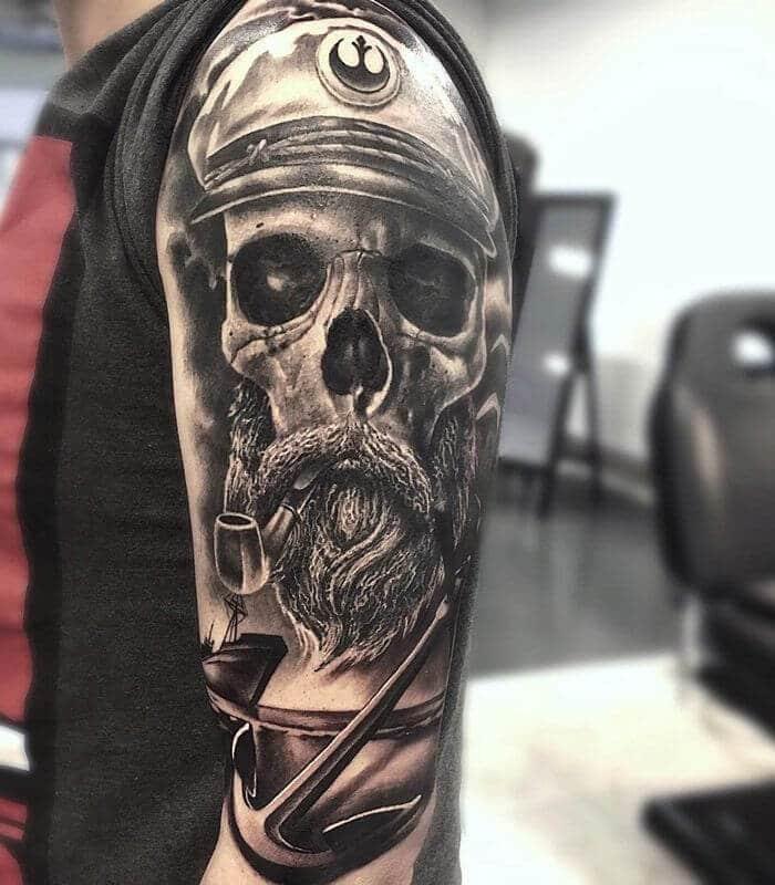 Dope Skull Tattoo