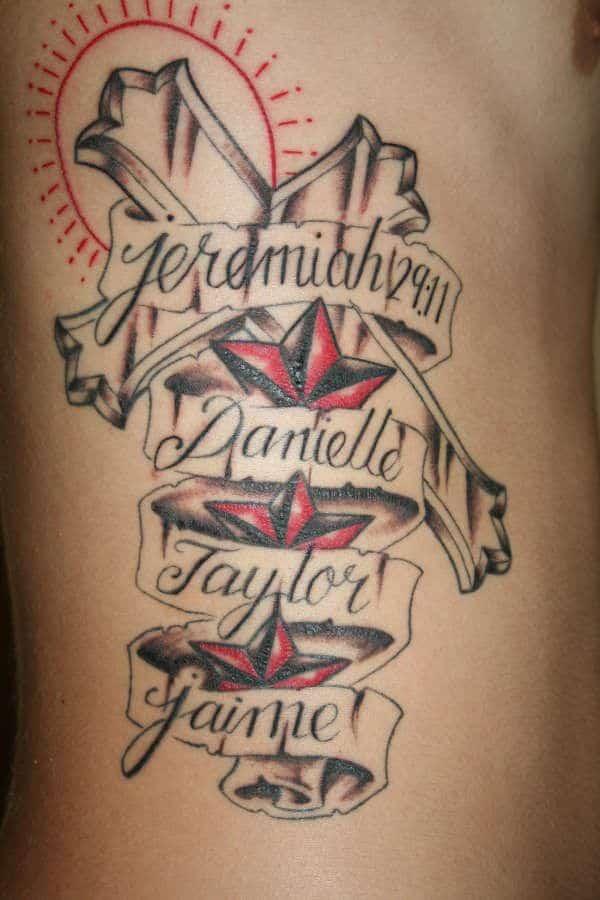Cool Kids Names Tattoo Ideas