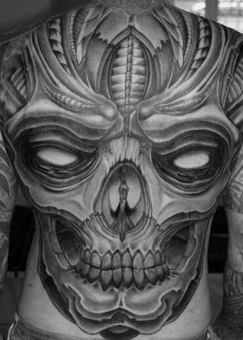 Skull Black Tattoo