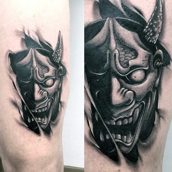Demon Tattoo Idea