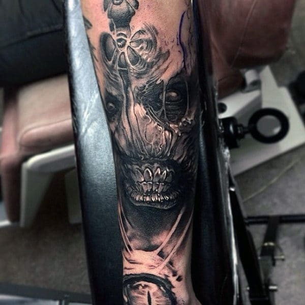 Demon Tattoo Sleeve
