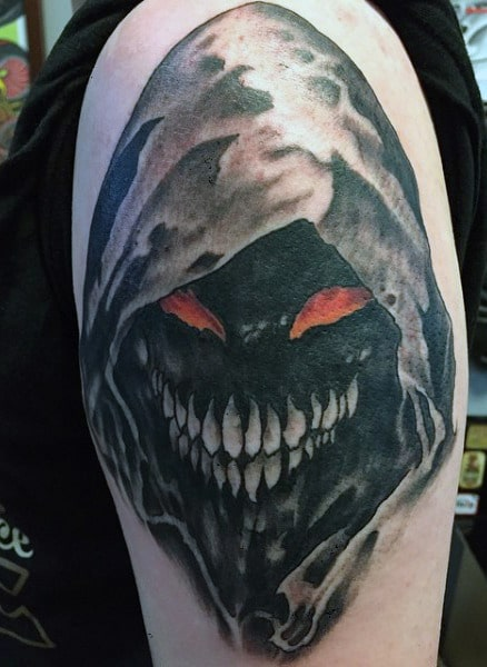 Hooded Demon Tattoo