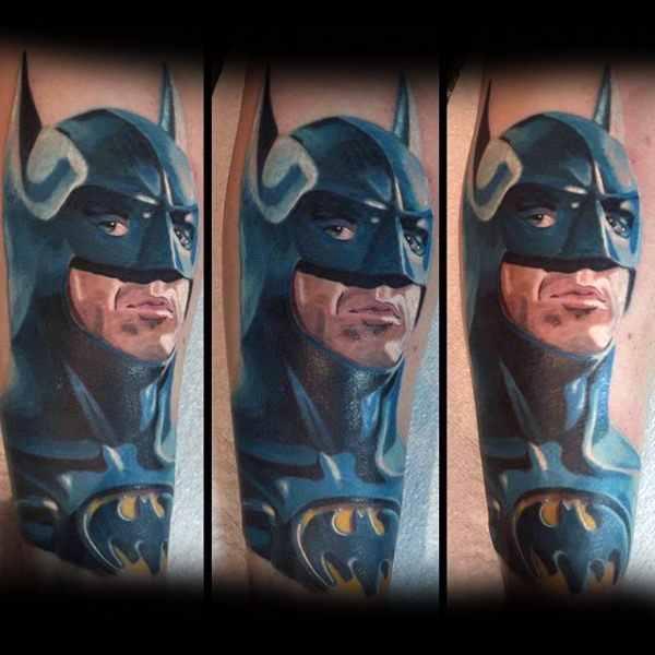 Batman Tattoo Idea For Men