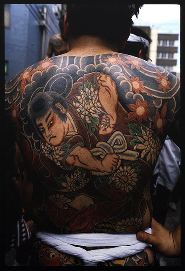 samurai tattoo traditional