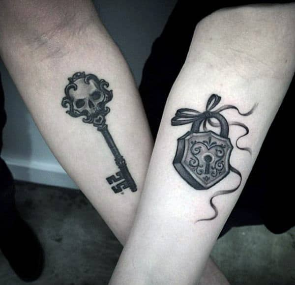 Key & Lock Tattoos