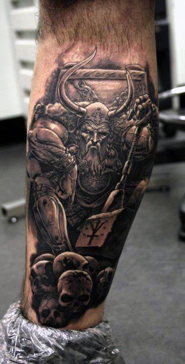 warrior leg sleeve