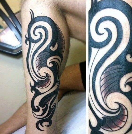 tribal leg design