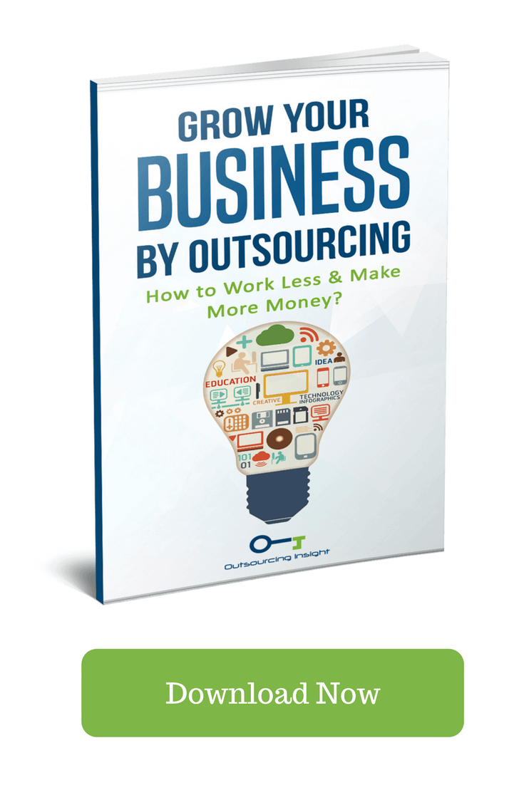 Grow your business by outsourcing - ebook