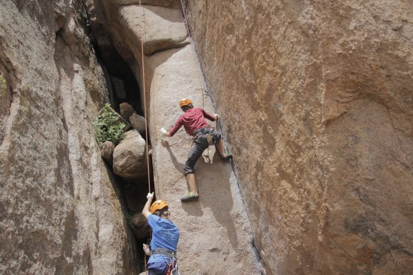 Beginner' Guide Rock Climbing Outward Bound