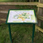 Capstone Country Park Map Board