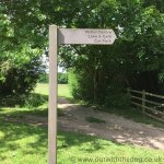 Capstone Country Park - Sign Post