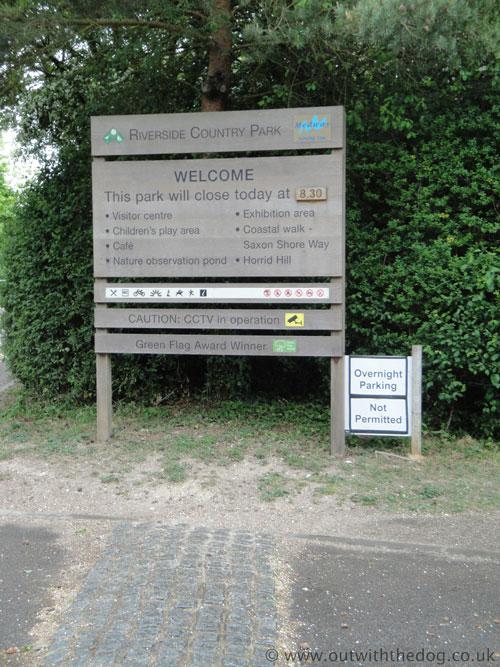 Riverside Country Park Riverside Entrance