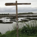 Riverside Country Park Sign Post