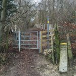 Queendown Warren - Entrance to the next field