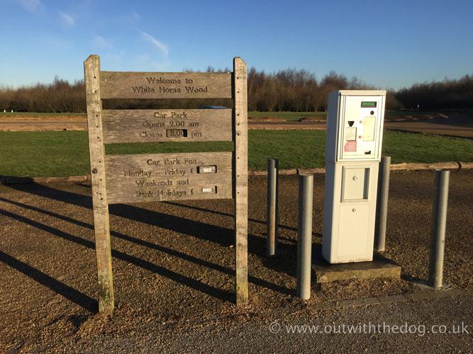White Horse Wood car park