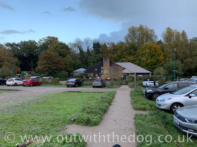 Lullingstone Country Park: Car Park