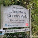 Lullingstone Country Park: Entrance sign post