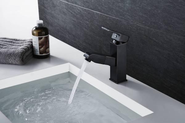 ouukey matte black faucet