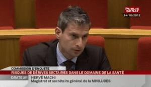 secrétaire général, Hervé Machi, de la Miviludes