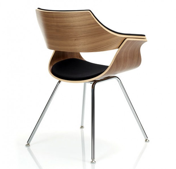 Classic-Contemporary-Guest-Chair-Design-for-Interior-Living-Room-Itoki-DP-by-KI-Itoki-DP-Chair-Back-620x595