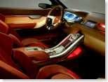 Land Rover LRX Concept Interior
