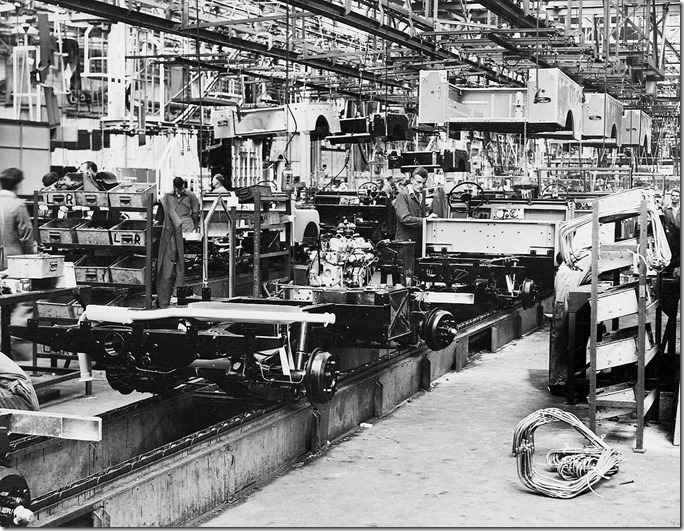 1950s Solihul Land Rover Production (5)