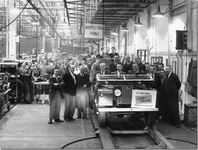 1954 - 100,000th Land Rover