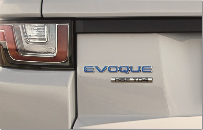 2016 Range Rover Evoque E-Capability