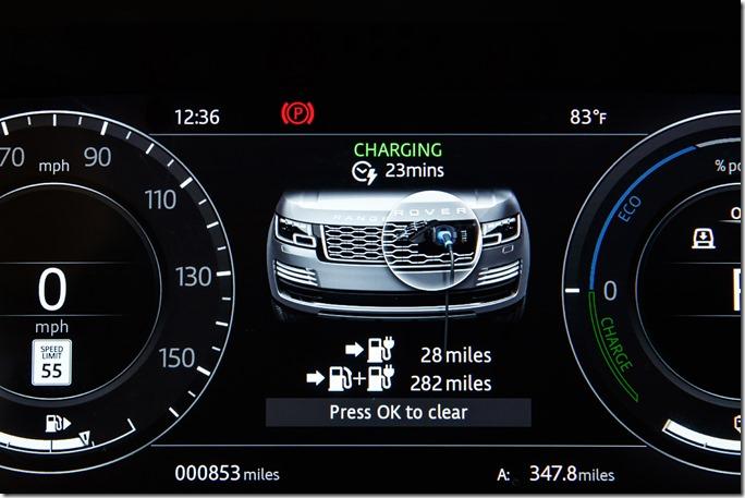2018 Range Rover PHEV - Interior (5)