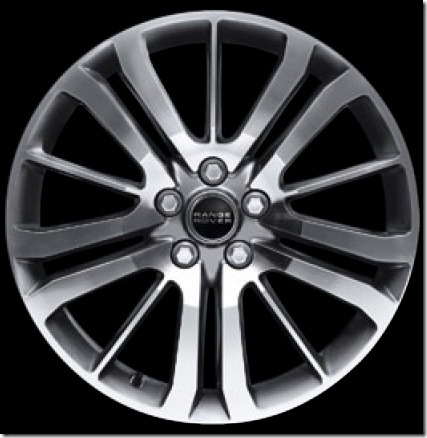 20in 15 Spoke Alloy Wheel Diamond Turned Finish (Style 4)