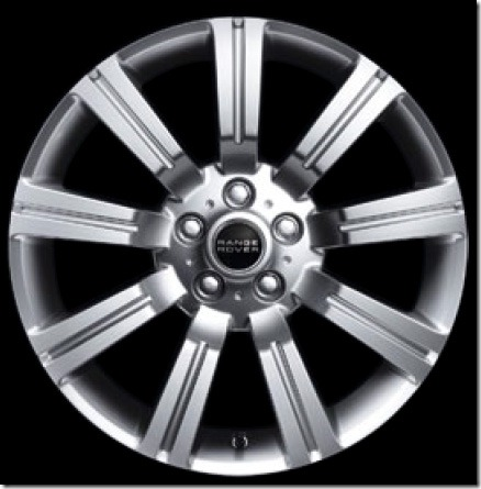 20in Stormer Alloy Wheel Sparkle Silver Finish