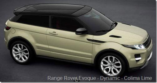 Range Rover Evoque - Dynamic - Colima Lime