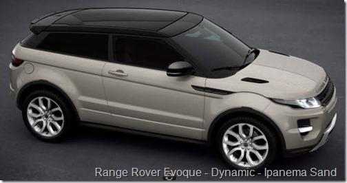 Range Rover Evoque - Dynamic - Ipanema Sand