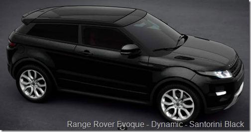Range Rover Evoque - Dynamic - Santorini Black