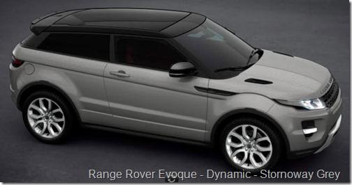 Range Rover Evoque - Dynamic - Stornoway Grey