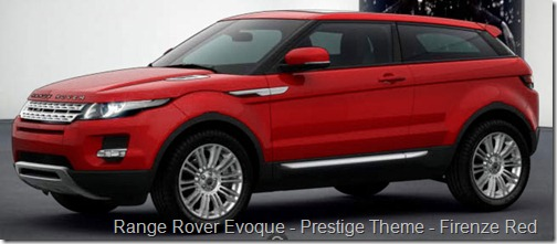 Range Rover Evoque - Prestige Theme - Firenze Red