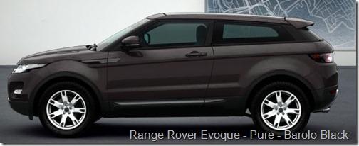 Range Rover Evoque - Pure - Barolo Black